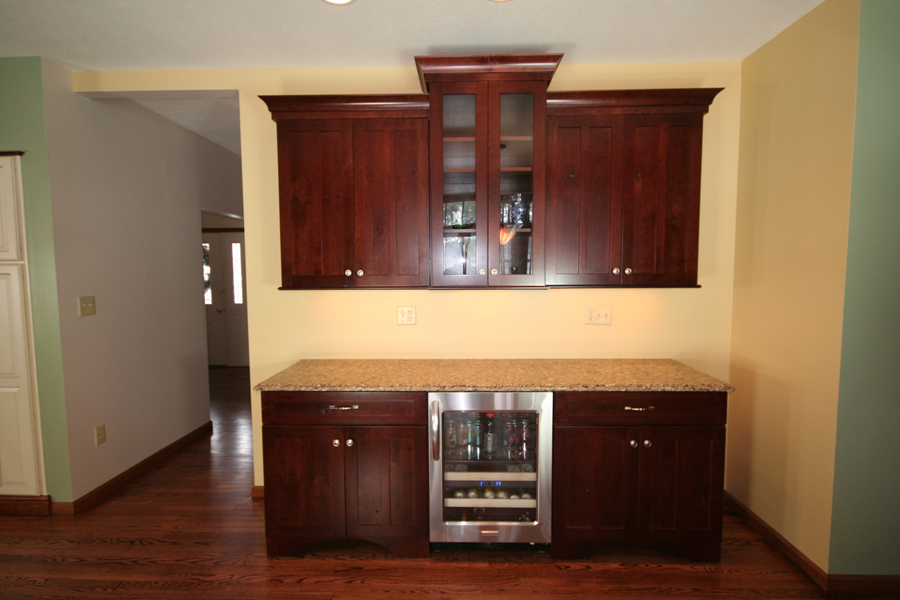 A New Pittsburgh Kitchen Completed Medallion Cabinetry In