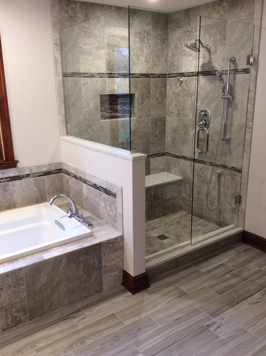 Elegant Pittsburgh New Bathroom Design (May 2017)