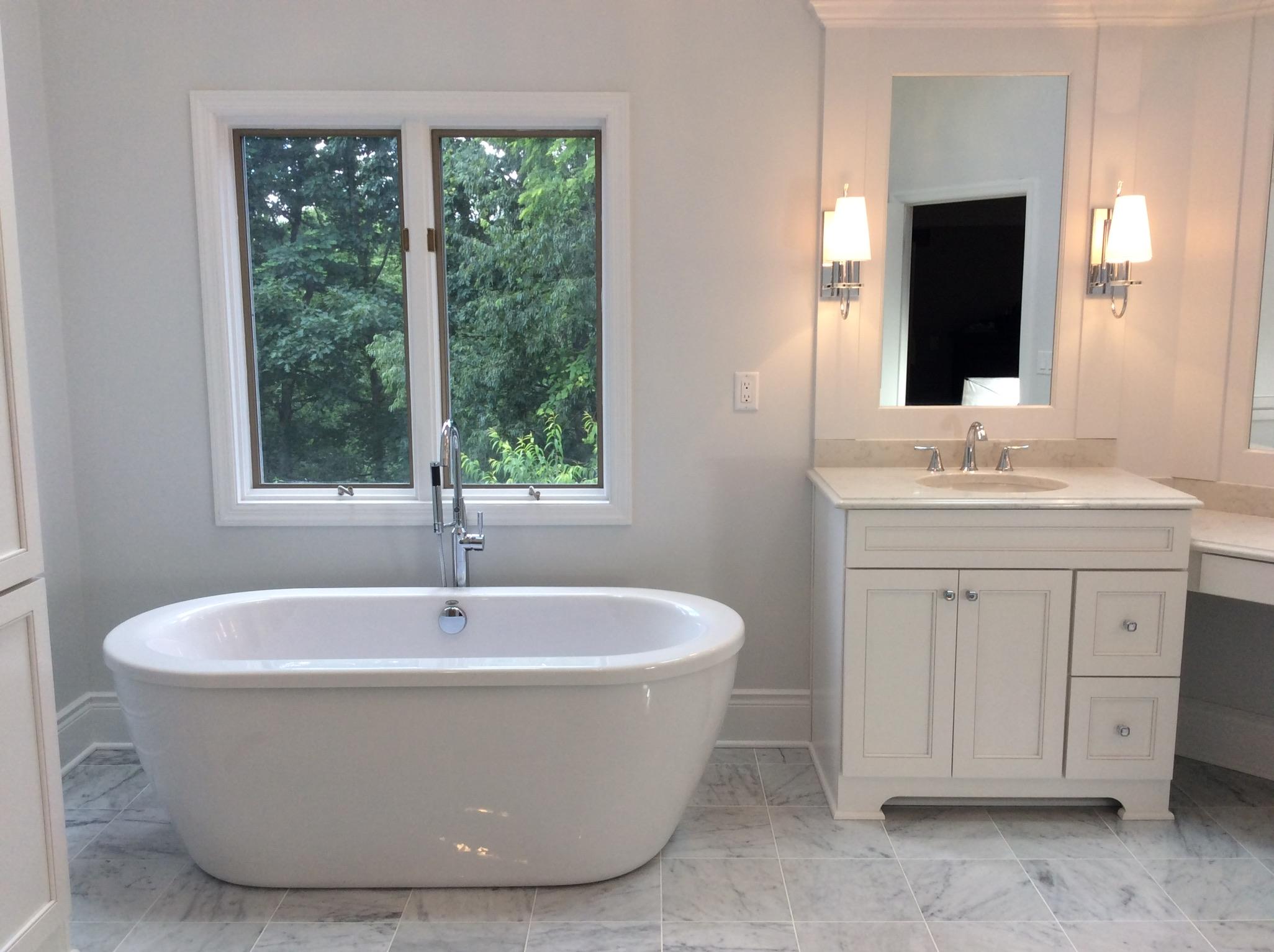 Clic Bathroom With Modern Touch