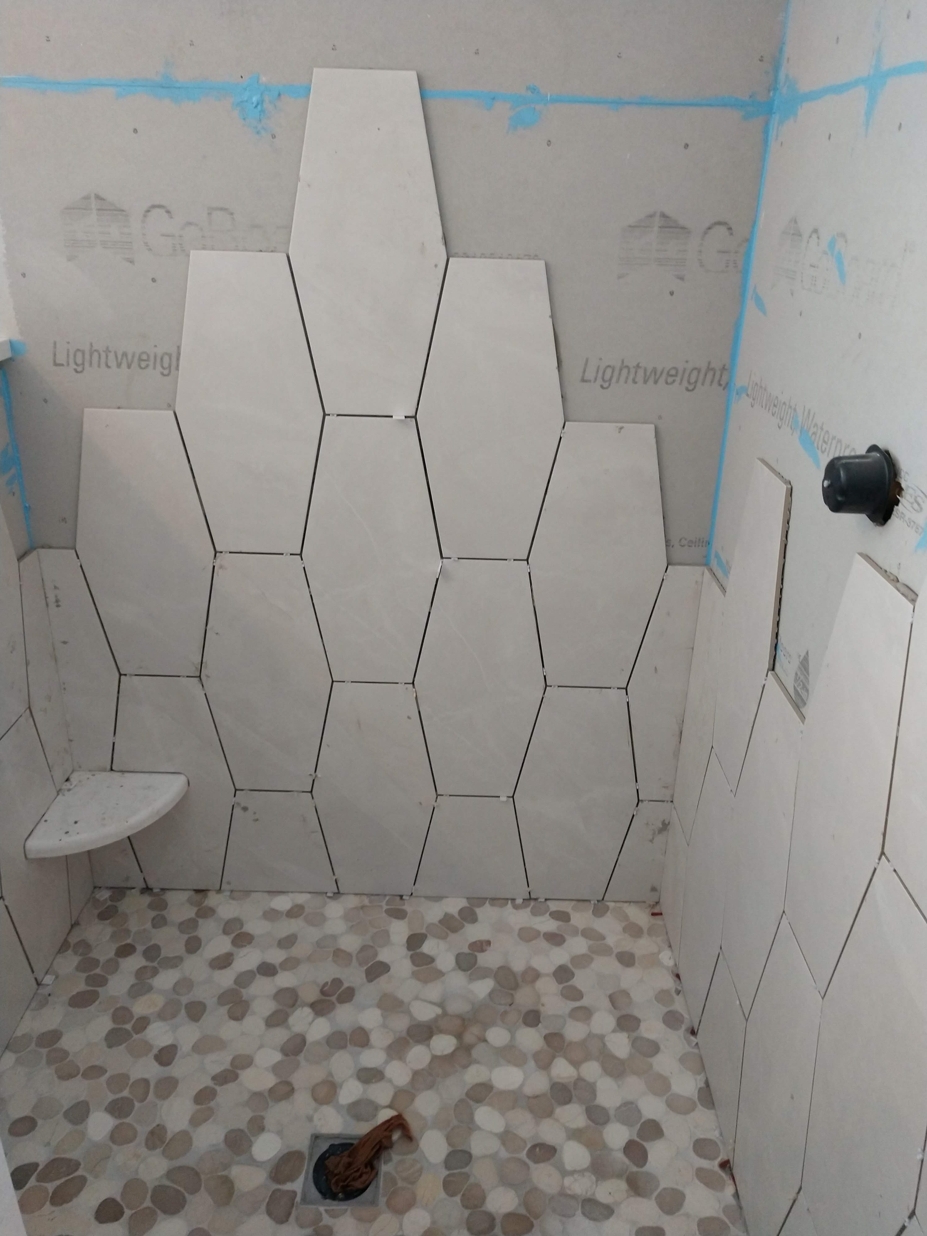 Cranberry Township Bathroom Tile Work 7
